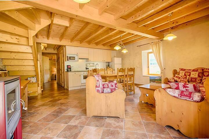 Cottage Rochette handicap access Spa area Alps
