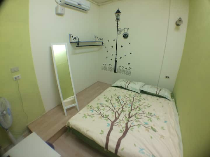 C101 double room, MRT: Dingxi MRT 4 minutes walk