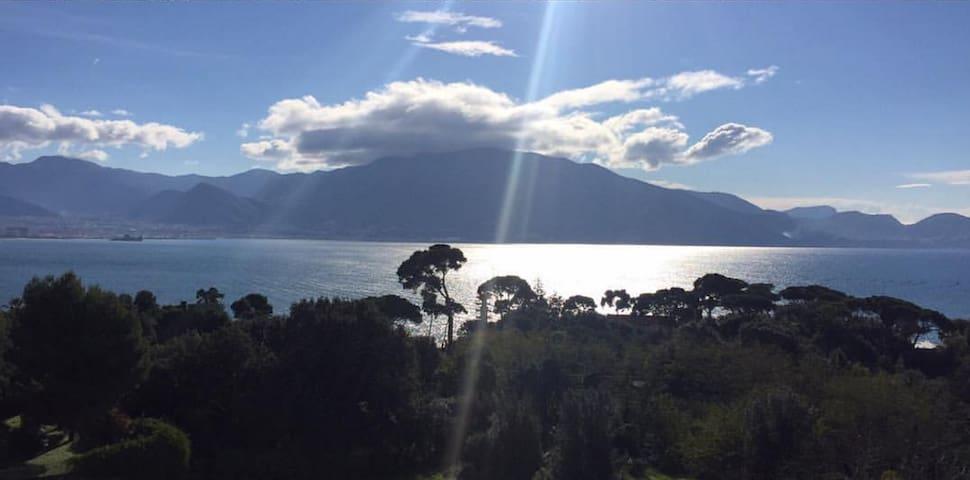 Sito panoramico tra mare e Vesuvio