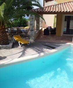 Villa calme tout confort vue mer - Saint-Florent