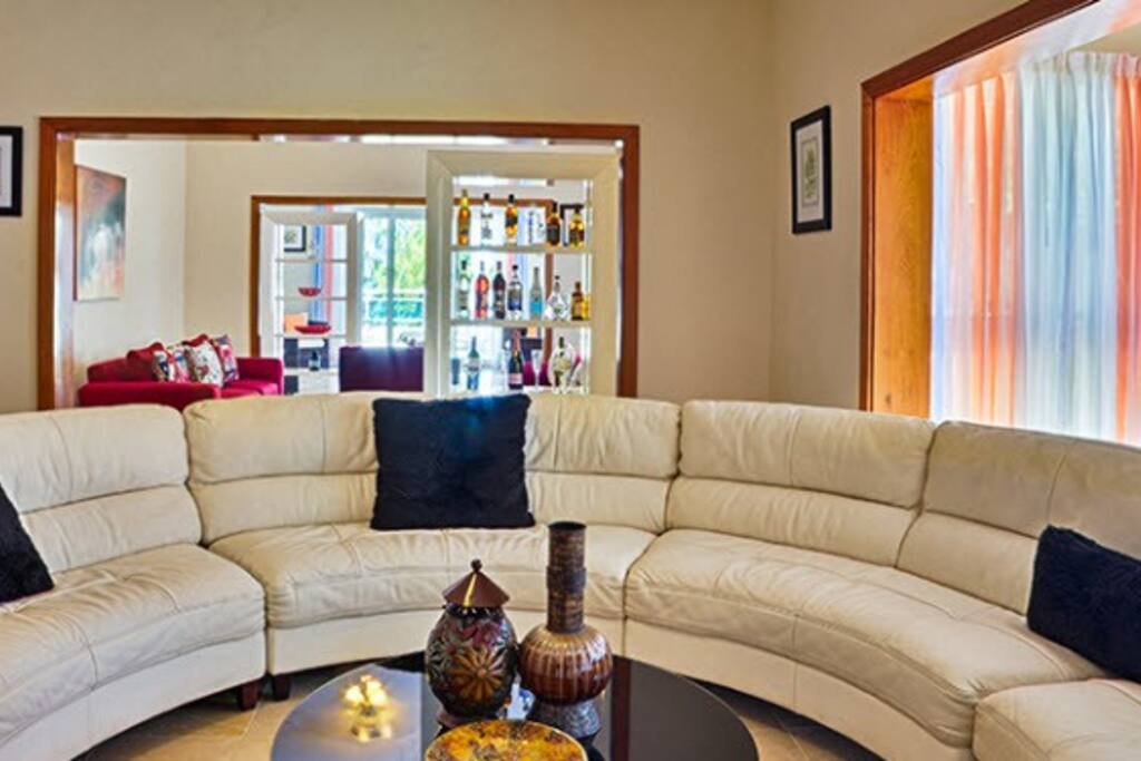High end decor throughout, checkout the Living Area
