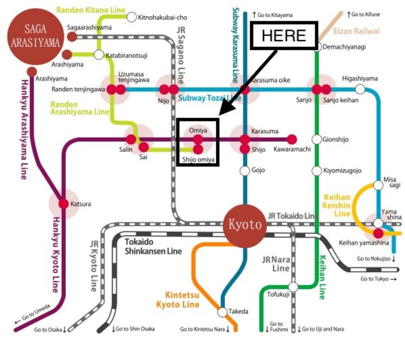 Kyoto Map