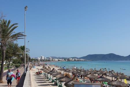 Appartement 50m vom Strand - Sant Llorenç des Cardassar