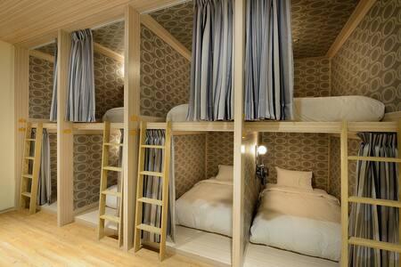 安禾時尚旅館-男/女背包客房、有窗雙人房‧無窗雙人房、無窗四人房、有窗四人房 - Luodong Township - Boutique-hotelli