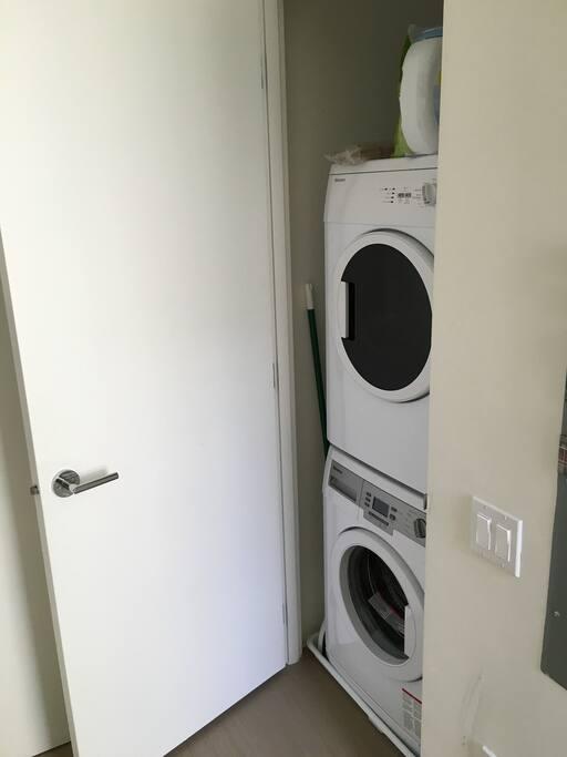 Full laundry.