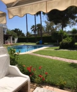 Marbella/Banus top floor room,ensuite &own terrace