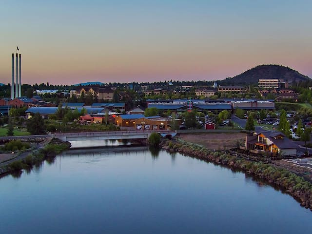 The Deschutes Crest: Old Mill Charm