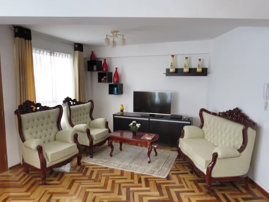 Muebles estilo colonial