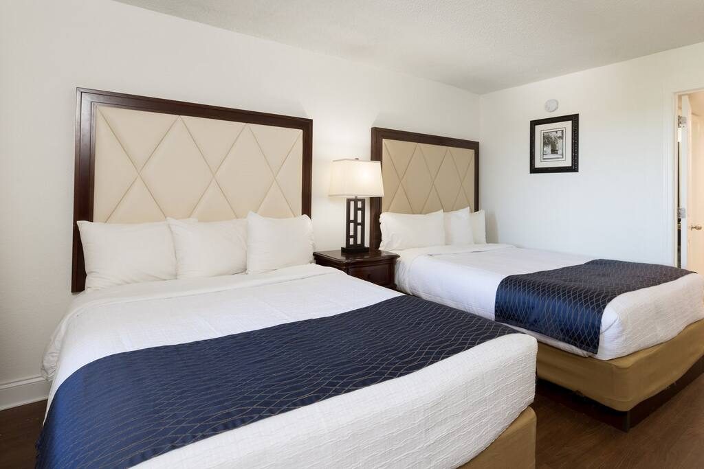 There are 2 queen beds in your lovely rental.