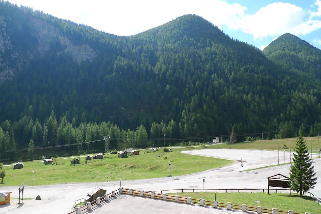 Vista dalla terrazza/View from the balcony