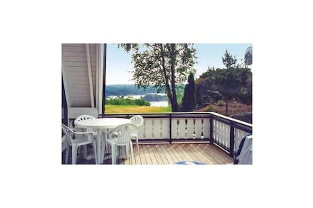 Holiday apartment with 2 bedrooms on 90m² in Høvåg
