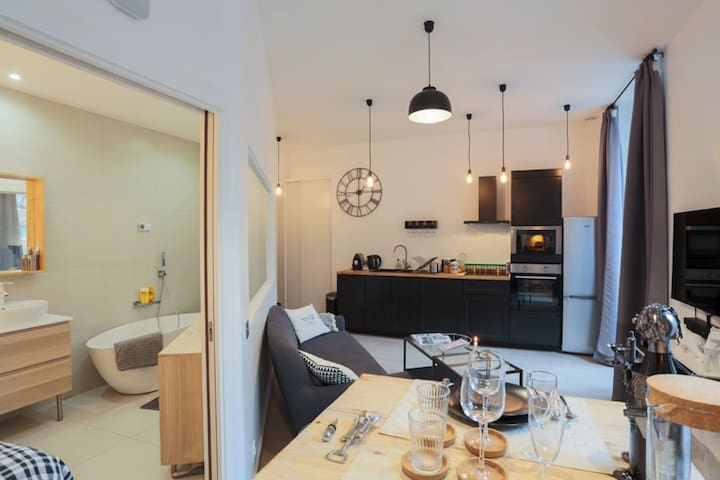 Superb Flat in Center of Lyon + Design + High Tech