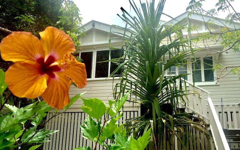 Vintage City Oasis - 2 Bedroom House - Cairns North - House
