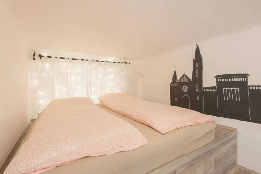 One of our king-sized beds