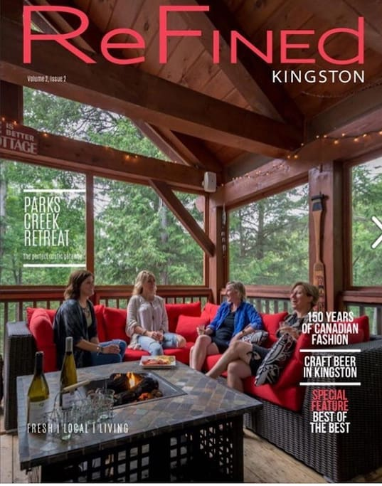 Our cover story with ReFined Kingston refinedkingston.com