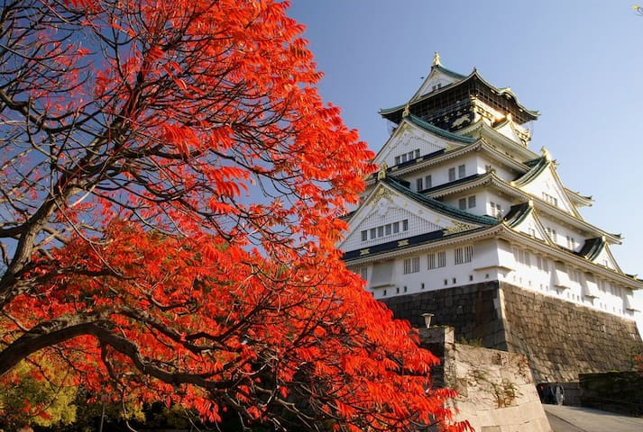 OPEN SALE★Ryokan style★Near心斎橋,Osaka Castle,Dome