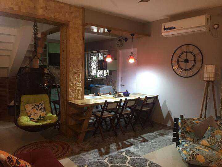 2 private rooms in a Villa near Colva Beach!!