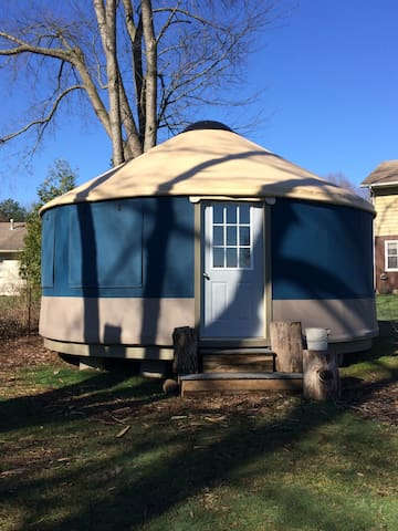 Experience A Yurt