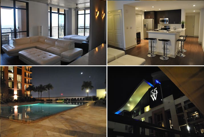 WOW! Amazing Luxury Penthouse Style Loft-HighRise! - Orlando - Loft