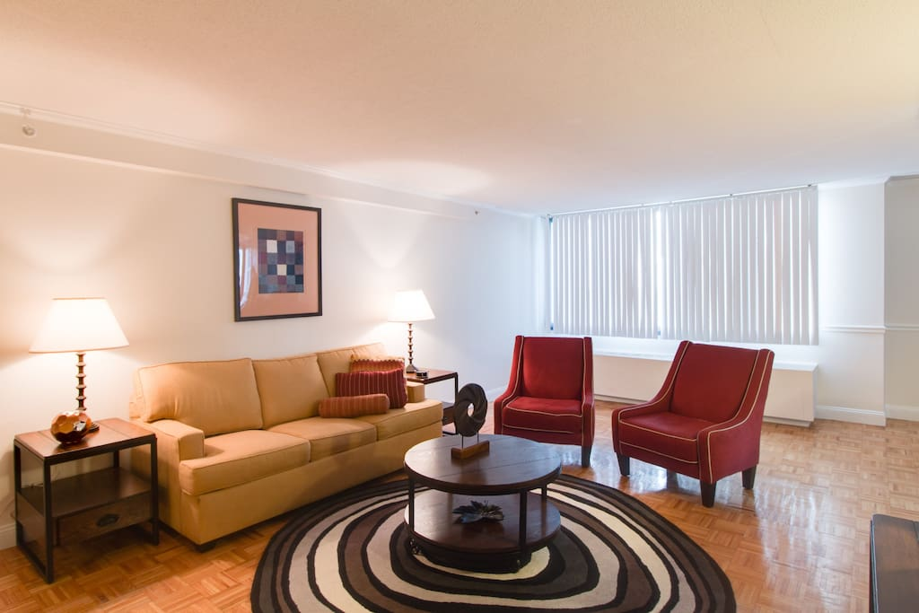 Living Room at Longfellow Place by Stay Alfred