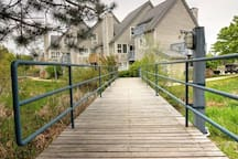 Lovely property to stroll around and explore.  Silver Creek trickles peacefully down the mountain and through the grounds of North Creek Resort.  Feeling adventurous? access hiking trails or ski-in-ski out from our property.
