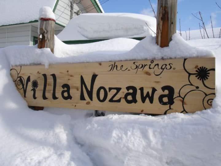 Villa Nozawa Lodge rated #1 - room for 4
