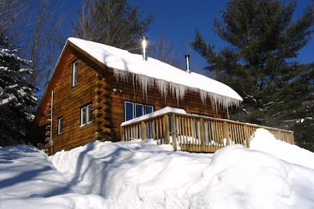 Relaxing Log Cabin in the White Mountains - Jefferson