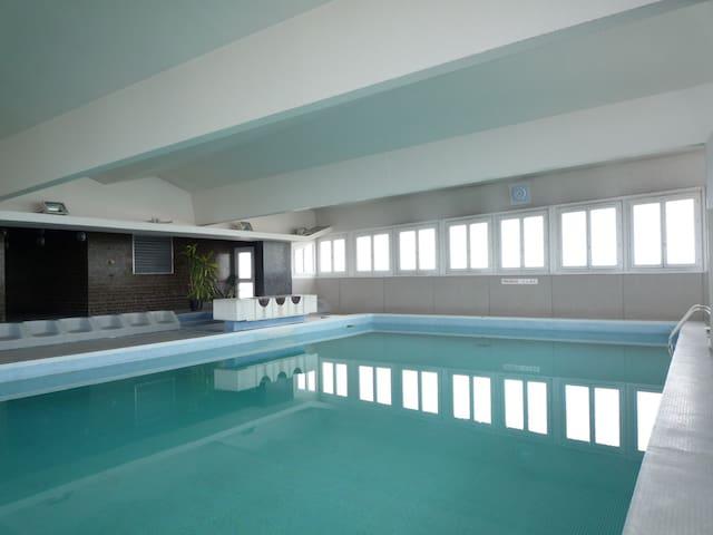 Studio 25m2 au 23ème Vue Paris 360 et piscine