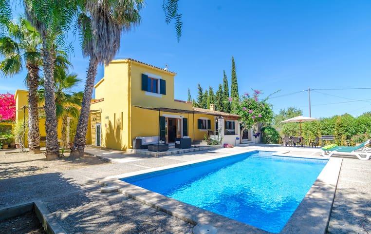 CA S'HEREU - Villa for 6 people in Cala Millor.