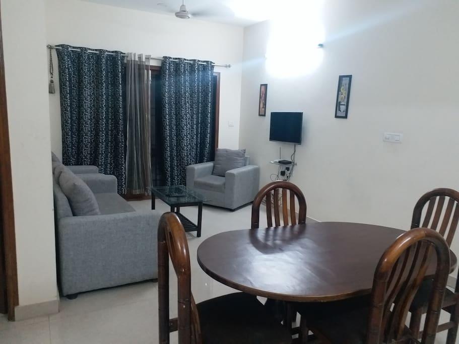 Apartment 1 - Living cum Dining