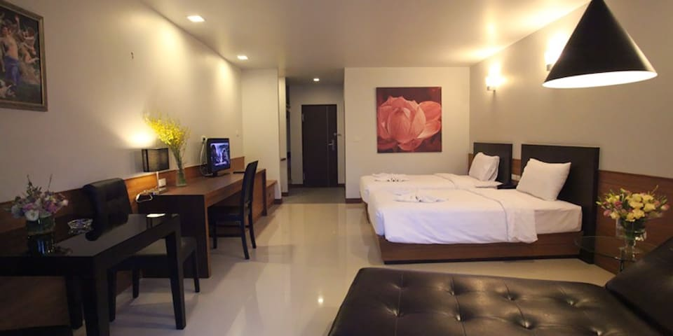 Grand Deluxe @The Radiance - Muang Pattaya - Bed & Breakfast