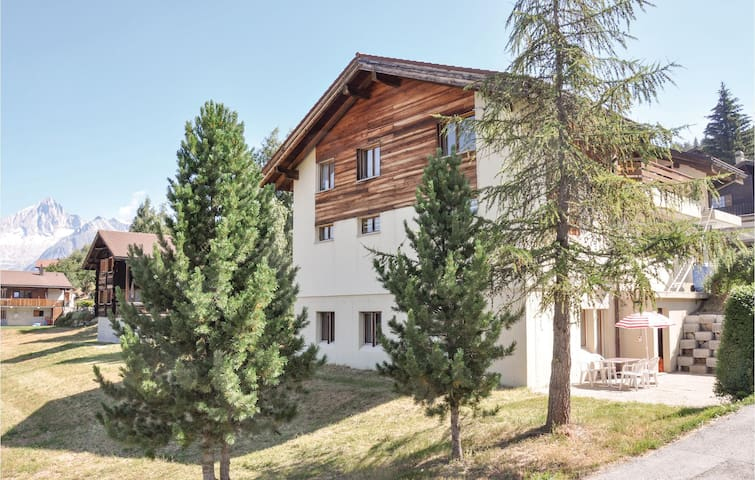 Holiday apartment with 2 bedrooms on 56m² in Bürchen
