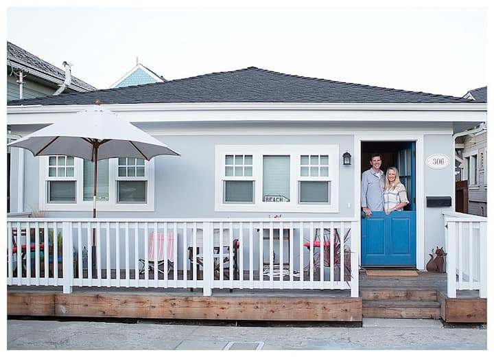 Santa Cruz Beach Cottage Getaway