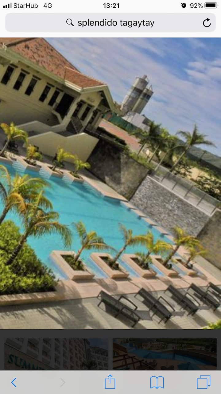 Tagaytay Hotel with Majestic View of Taal Lake