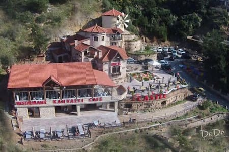 Mountain house with amazing view/restaurant-hotel - Ağaçlı Köyü