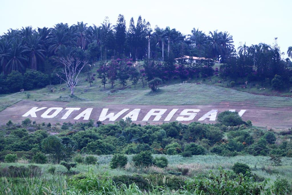 landmark lokasi rumah