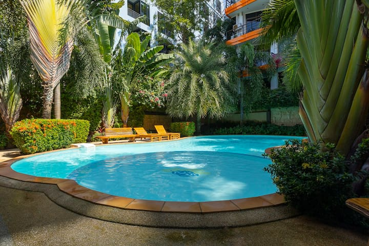 1-BR apartments, NEW condo (2019) by Holy Cow, Pool ❤️ NaiHarn Beach (611)