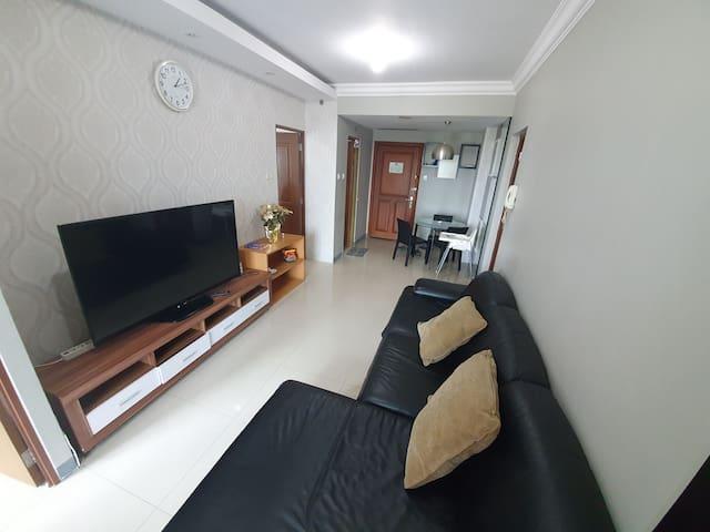 Ciumbuleuit Apartment ( Wifi, AC & Baby friendly)