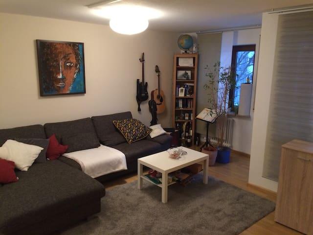 Gemütliche Wohnung ruhig gelegen und nah zur Stadt - Freiburg im Breisgau - Apartment