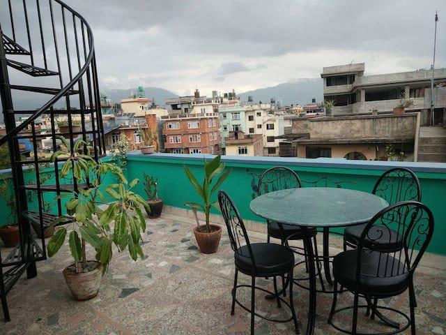 Sunny apartment @ Bista Home - Kathmandu - Apartemen
