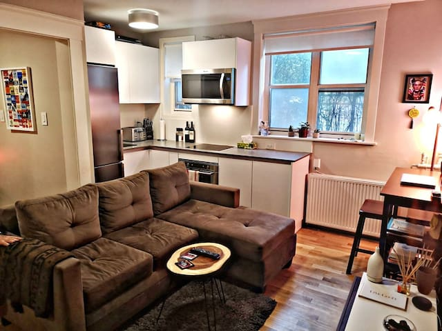 Cosy apartment in the heart of downtown Toronto.