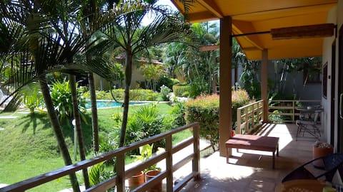 Pool-Side 2-Bedroom Bungalow @ EscapeCabins