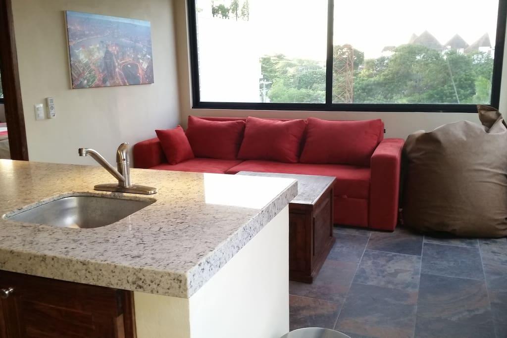 loft de luxe playa del carmen lofts for rent in playa. Black Bedroom Furniture Sets. Home Design Ideas