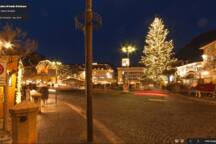 Walther Square - Waltherplatz - Piazza Walther - by night (winter)
