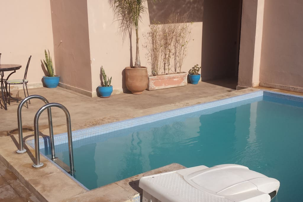 Appartement gu liz wifi et piscine appartements louer for Appartement piscine marrakech