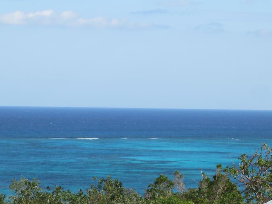 Our intimate three mile beach and superb snorkeling.