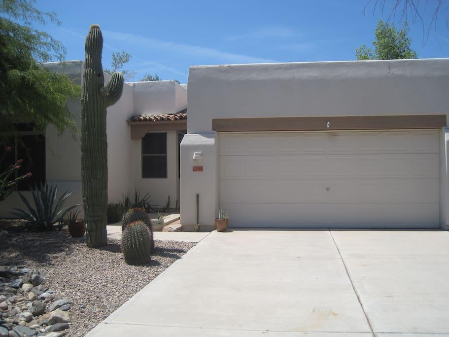 The Saguaro house.