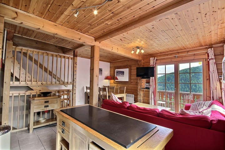 Quiet and beautiful chalet for 6 people