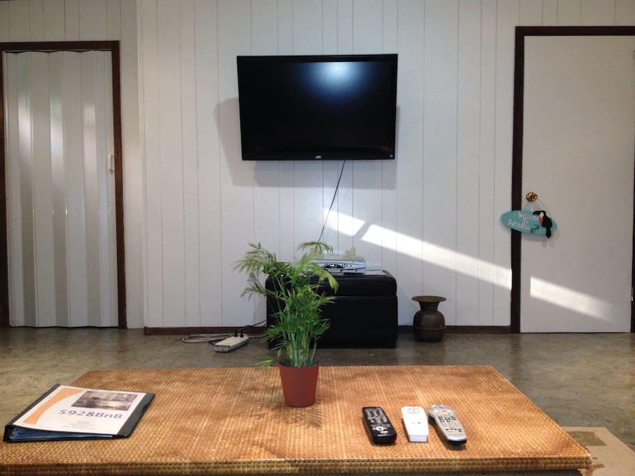 TV, WiFi and storage