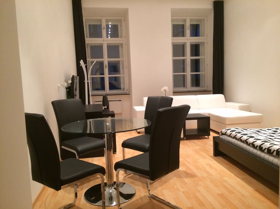 Luxury and quiet living in the heart of Prague.